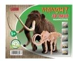 """Набор 3D пазл динозавр """"Mammoth"""", деревянный"""