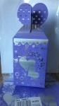 Коробка картонная, 9*10см, печать на фольге - блок