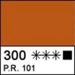 Краска акриловая ЛАДОГА, английская красная, 220мл ЗХК