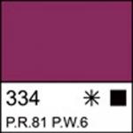 Краска акриловая ЛАДОГА, розовая темная, 220мл ЗХК