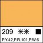 Краска темперная МАСТЕР-КЛАСС неаполитанская желтая (А)