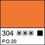 Краска темперная МАСТЕР-КЛАСС кадмий оранжевый