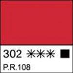 Краска темперная МАСТЕР-КЛАСС кадмий красный темный