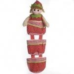 Коврик-кукла  (3 кармана)