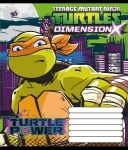 А5/12 в клеточку YES  TMNT POWER-16, тетрадь
