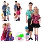Набор кукол с дочкой