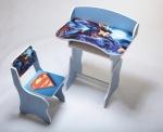 """Парта + стул """"Супермен"""""""