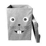Ящик мишка с крышкой