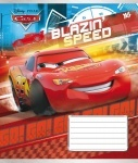 А5/12 в клеточку YES CARS BLAZING-16, тетрадь