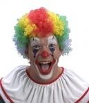 """Парик цветной """"Клоун"""" короткие волосы"""