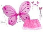 Набор феи: крылья, юбка с нижним атласным слоем