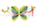Набор бабочки: крылья, обруч, палочка