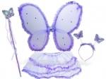 Набор феи: крылья, обруч, палочка, юбка