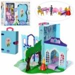 Замок принцессы,в книге-чемодане