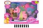Пони с девочкой - игровой набор