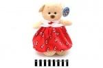 Мягкая игрушка Мишка в платье