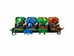 Динозавр складной