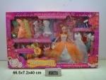 Кукла типа Барби с нарядами