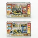 Поезд с дымом на батарейках
