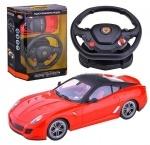 Спортивный автомобиль с рулевым управлением