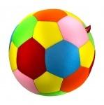 """Антистрессовая игрушка """"SOFT TOYS """"Футбольный мяч"""" цветной"""