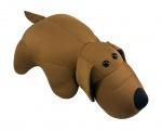 """Антистрессовая игрушка """"SOFT TOYS """"Собака"""" коричневая"""