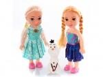 Кукла Фрозен и снеговик