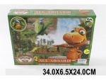Трек-дорога с динозаврами