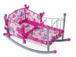 Кроватка -качалка для кукол