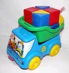 Машина Вольво-Мультик + кубики