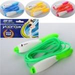 Скакалка с пластиковыми ручками и счетчиком