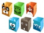"""Ящик для игрушек """"Жабка"""""""