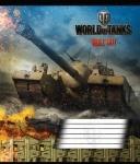 Тетрадь в линию А5/18 World Of Tanks Fire