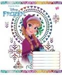Тетрадь в линию А5/12 FROZEN SNOW