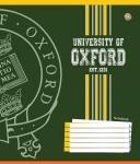 Тетрадь в клеточку А5/12 OXFORD LOGO