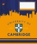 Тетрадь в клеточку А5/12 CAMBRIDGE TAUER