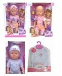 Кукла-пупс механический Baby с коляской