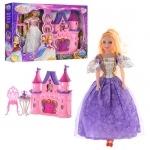 Замок принцессы с куколкой