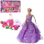 Кукла с нарядами и аксессуарами