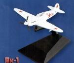 """Модель Самолет """"ЯК-1"""""""