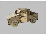 Сборная деревянная модель Пикап