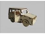 Сборная деревянная модель джип