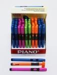 Ручка Piano для правши, синяя (блок)
