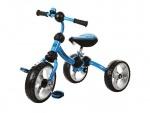 Велосипед детский трех колесный, голубой