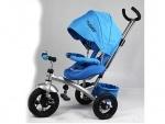 Детский трехколесный велосипед Turbo Trike, голубой