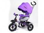 Детский трехколесный велосипед Turbo Trike, фиолетовый
