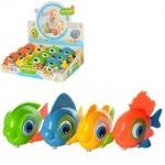 Заводная игрушка рыбка, блок