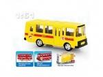 Автобус металлический инерционный