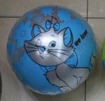 """Мяч детский 9"""" с кошкой"""