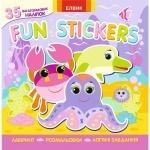 Книга 6 Fun stickers. Книжка з наліпками.